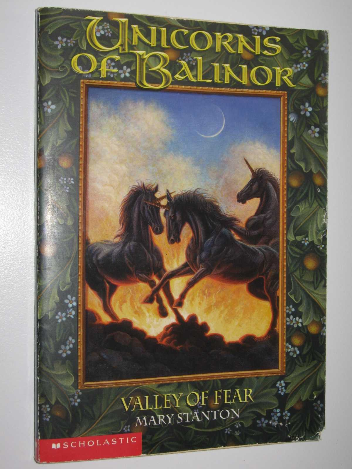 Image for Valley of Fear - Unicorns of Balinor Series #3