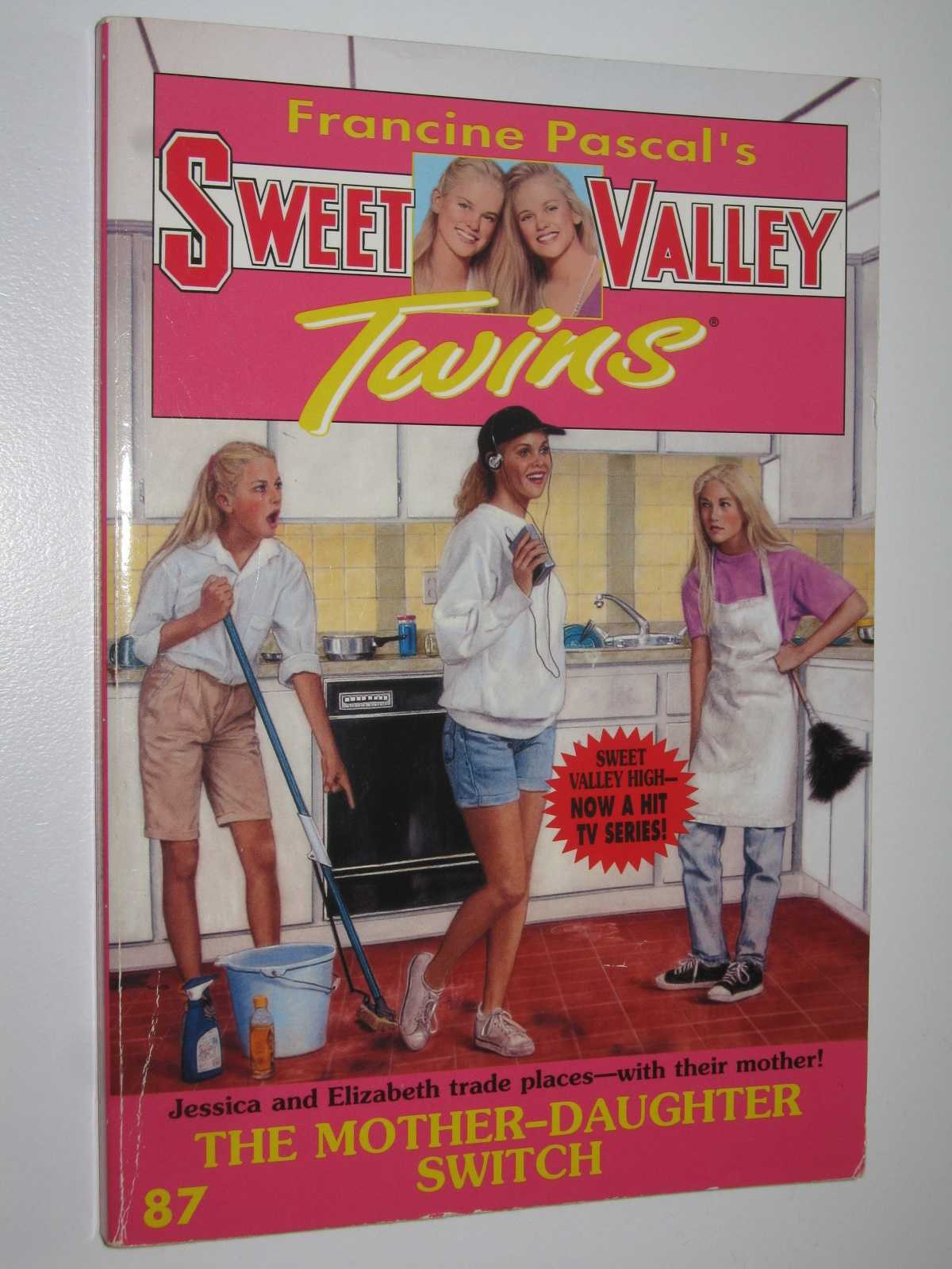 Image for The Mother-Daughter Switch - Sweet Valley Twins Series #87