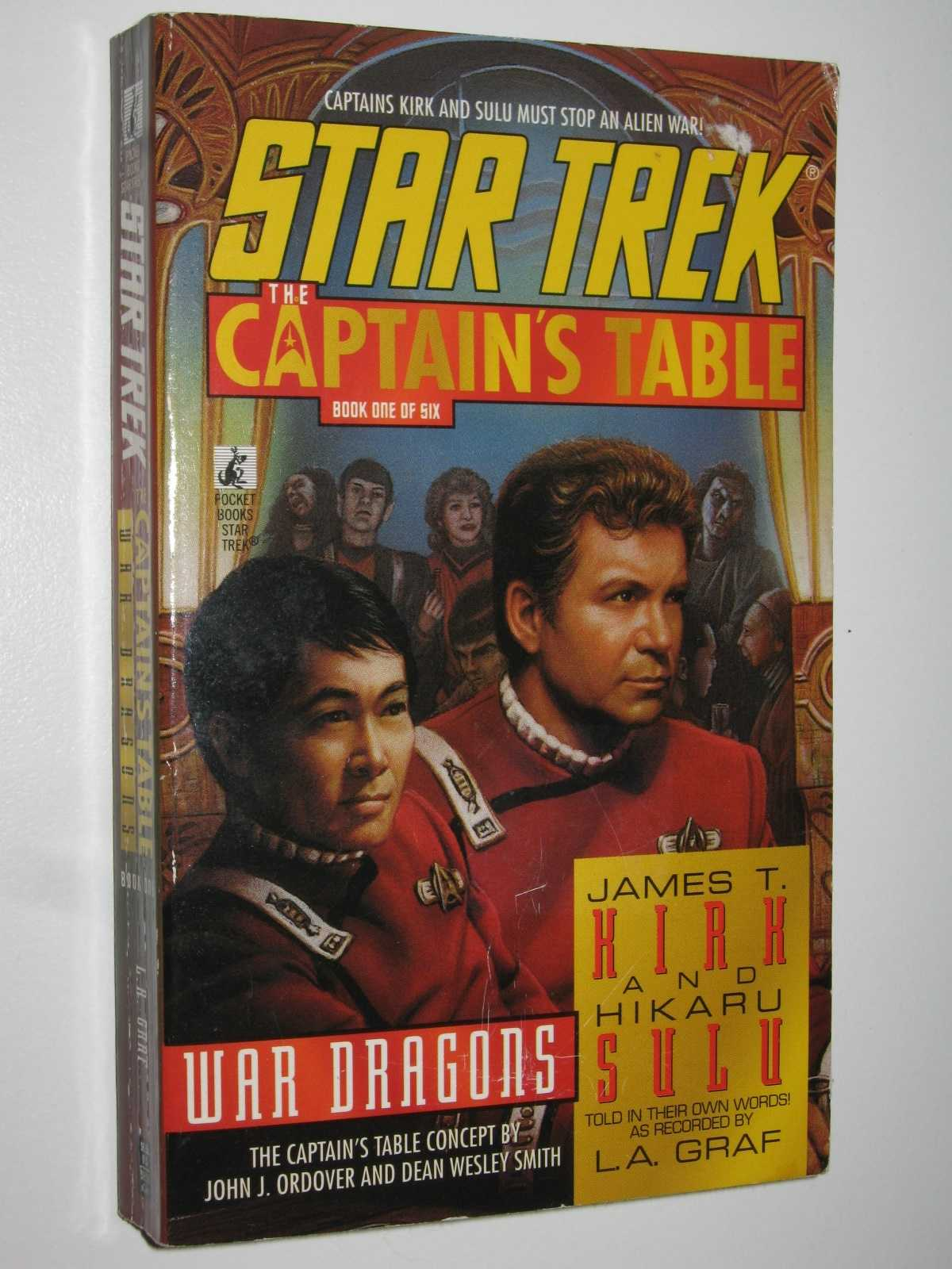 Image for War Dragons - Star Trek The Captain's Table Series #1