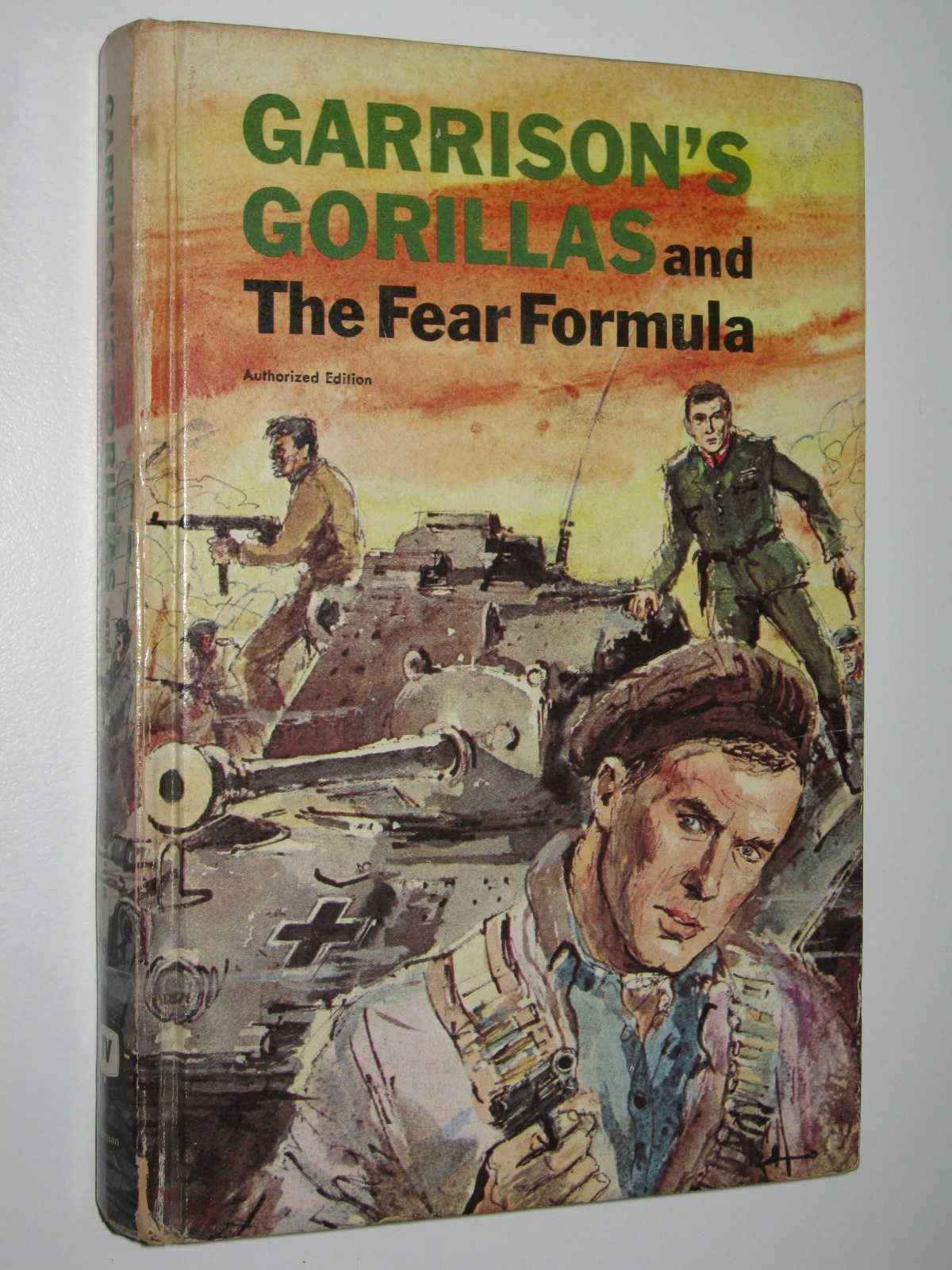 Image for Garrison's Gorillas and the Fear Formula