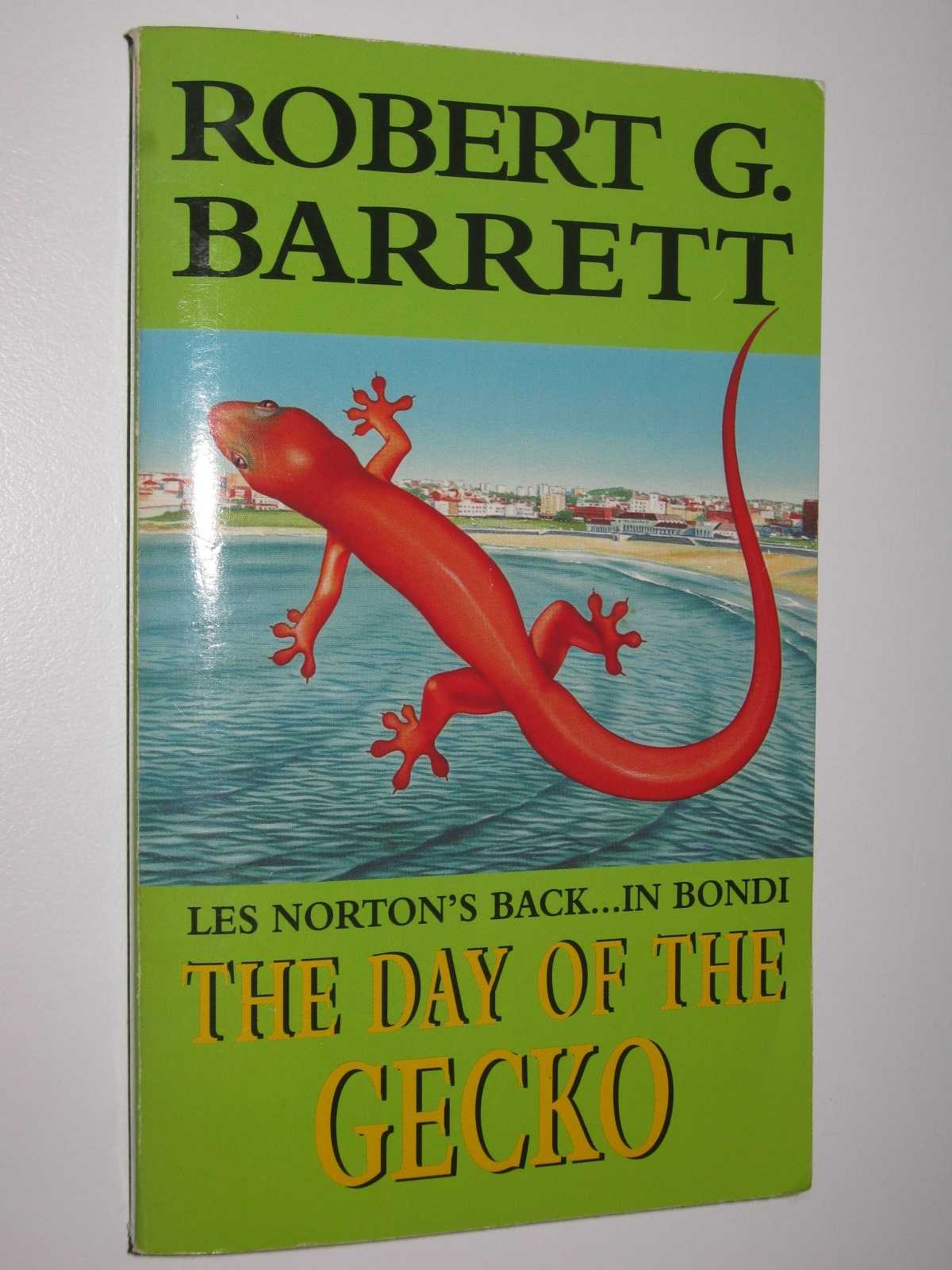 Image for The Day of the Gecko - Les Norton Series