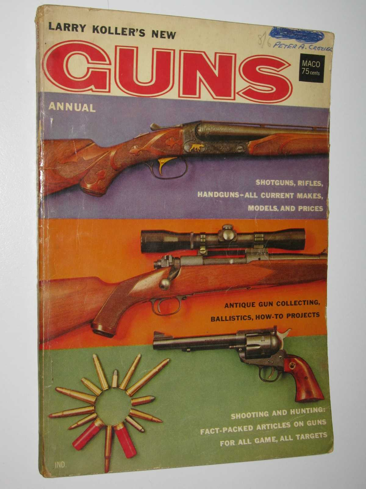 Image for Larry Koller's New Guns Annual