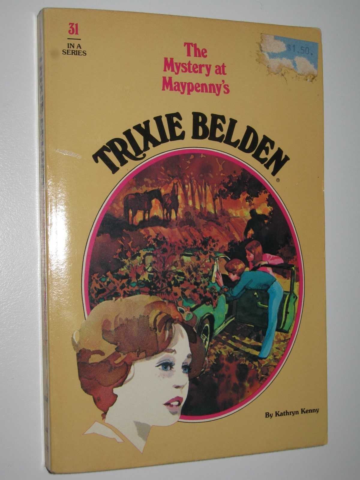 Image for The Mystery at Maypenny's - Trixie Belden Series #31