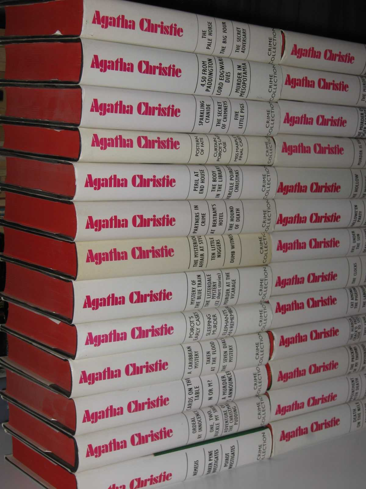Image for Agatha Christie Crime Collection : 26 Volumes