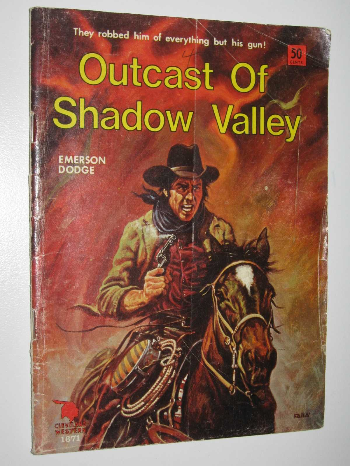 Image for Outcast of Shadow Valley - Cleveland Western Series #1671