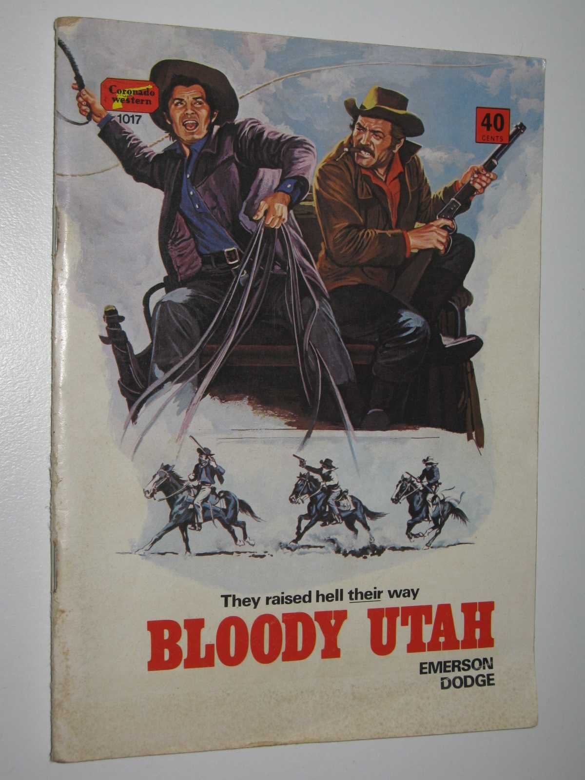 Image for Bloody Utah - Coronado Western Series #1017