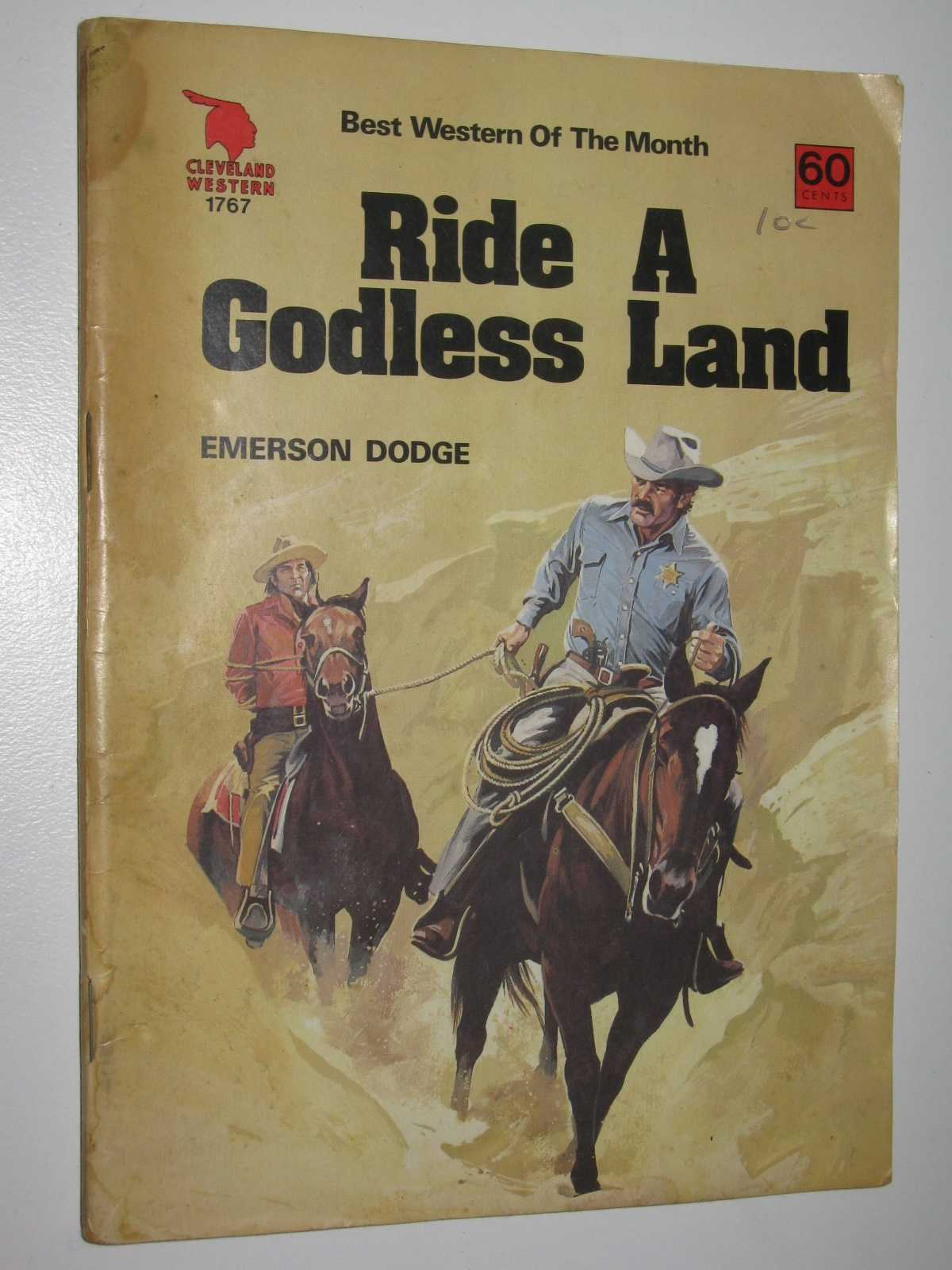 Image for Ride a Godless Land - Cleveland Western Series #1767