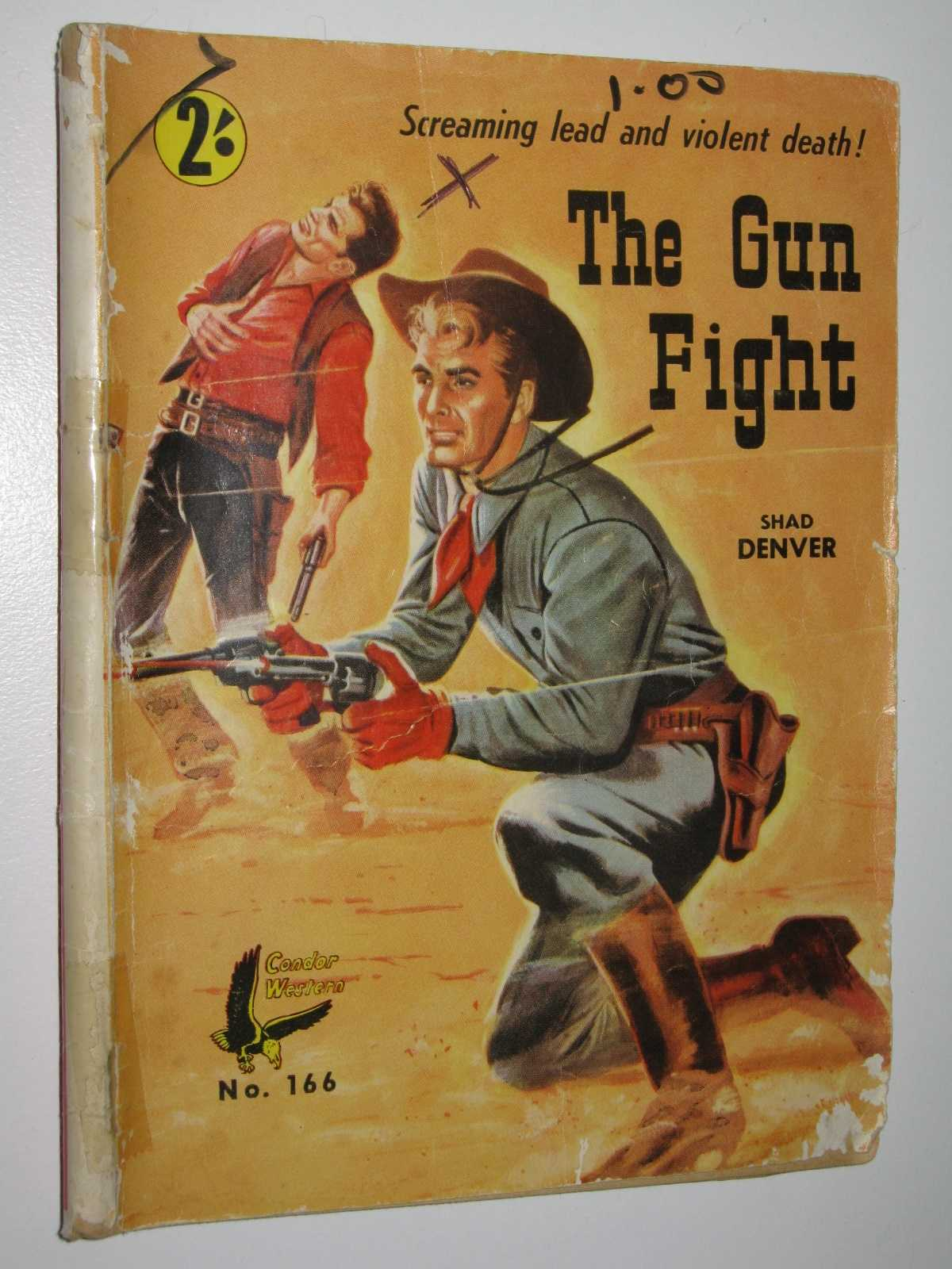 Image for The Gun Fight - Condor Western Series #166