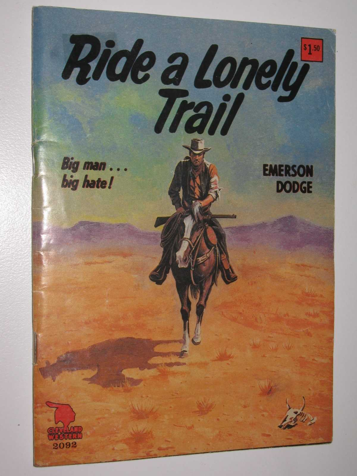 Image for Ride a Lonely Trail - Cleveland Western Series #2092