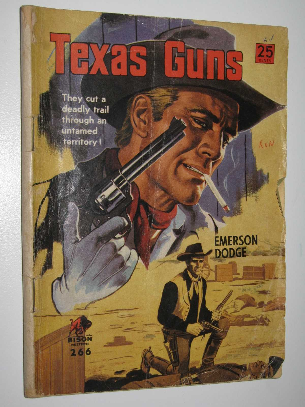 Image for Texas Guns - Bison Western Series #266