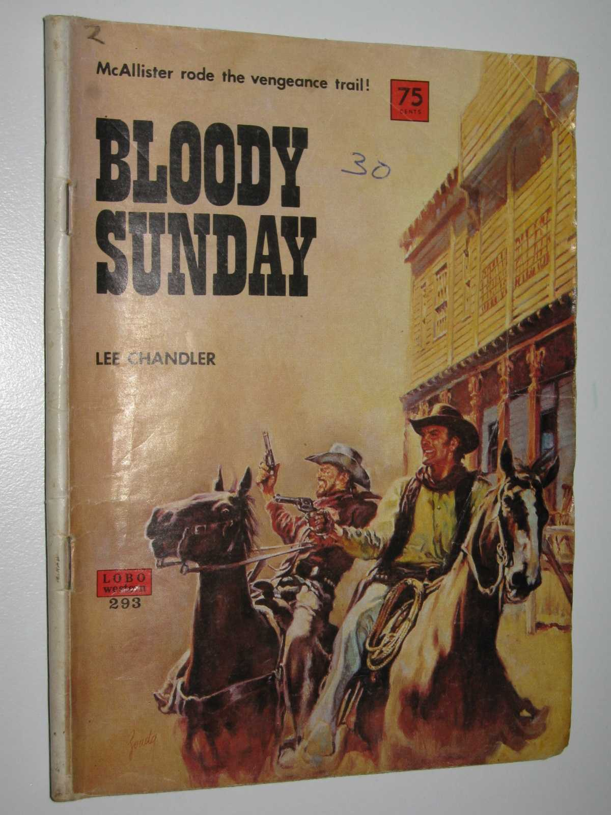 Image for Bloody Sunday - Lobo Western Series #293