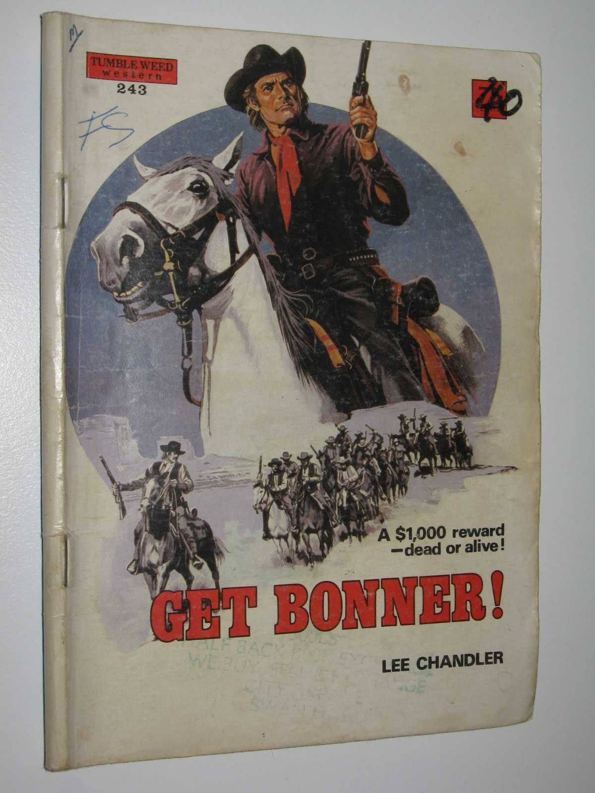 Image for Get Bonner! - Tumbleweed Western Series