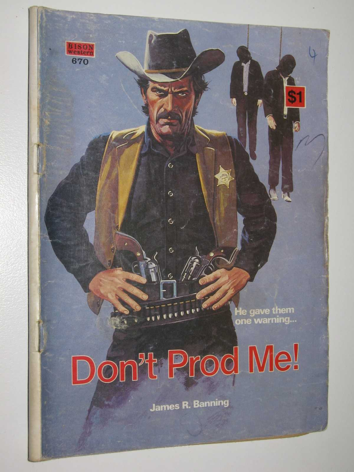 Image for Don't Prod Me! - Bison Western Series #670