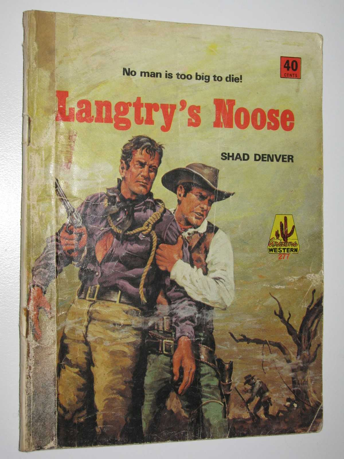 Image for Langtry's Noose - Arizona Western Series #277