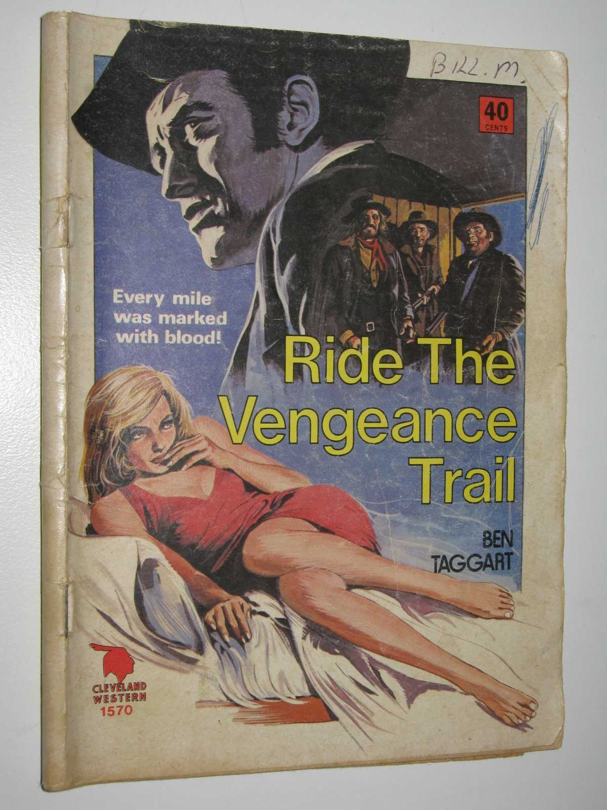 Image for Ride the Vengeance Trail - Cleveland Western Series #1570