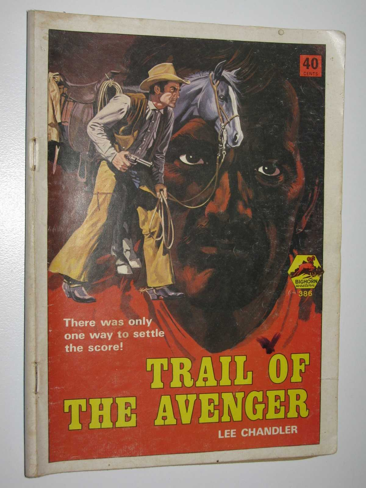 Image for Trail of the Avenger - Bighorn Western Series #386