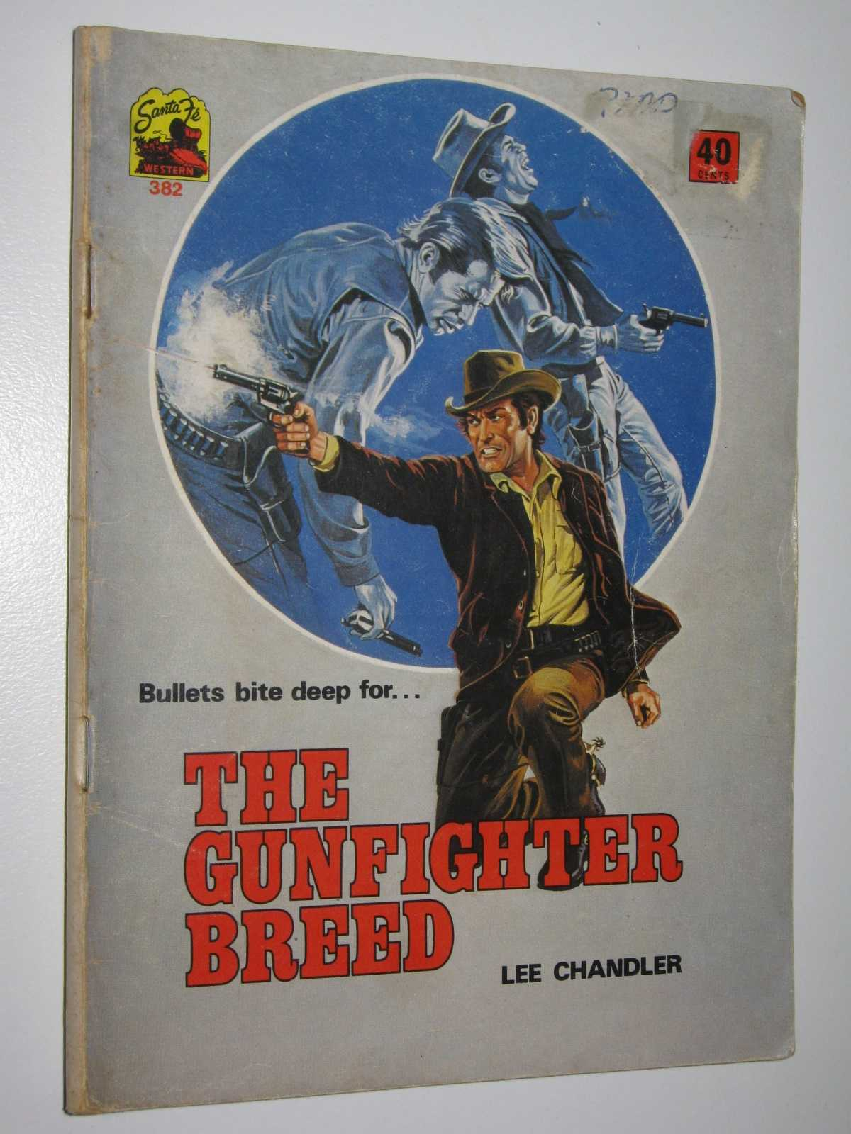 Image for The Gunfighter Breed - Santa Fe Western Series #382