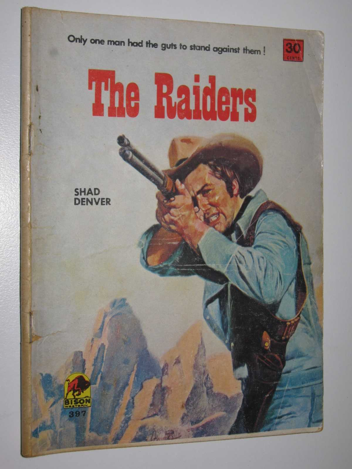 Image for The Raiders - Bison Western Series #397