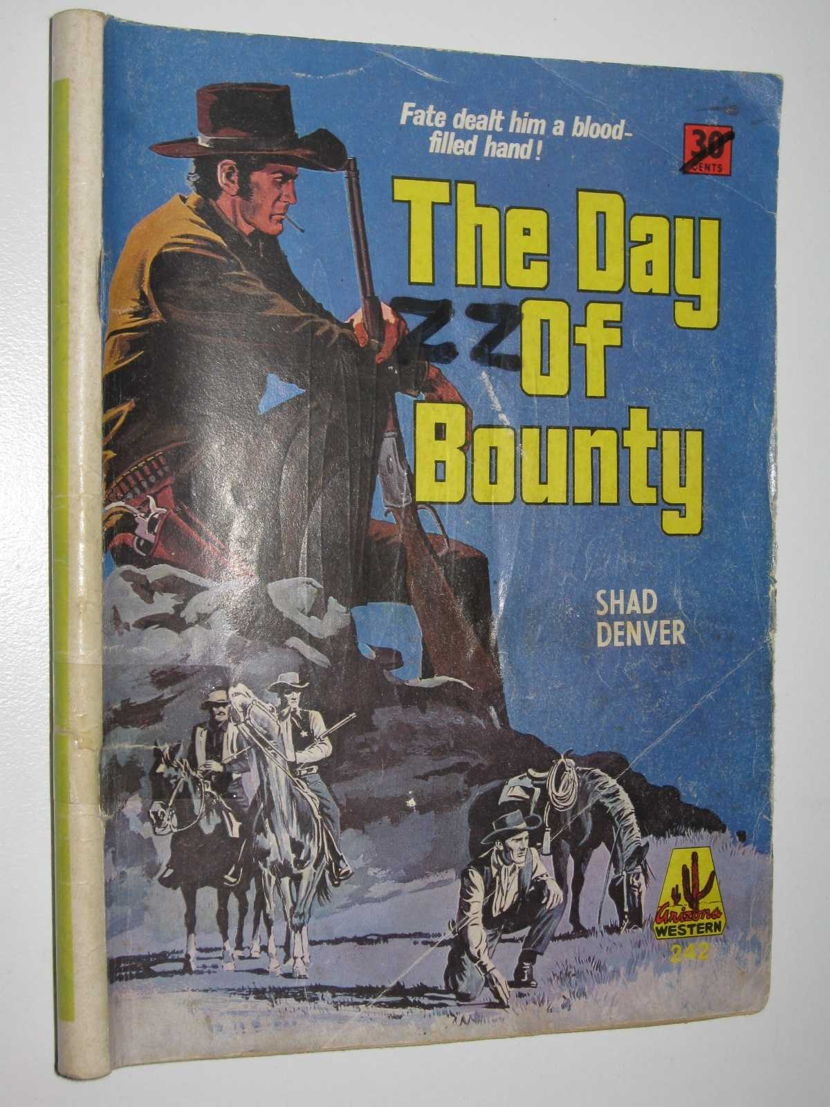 Image for The Day of Bounty - Arizona Western Series #242