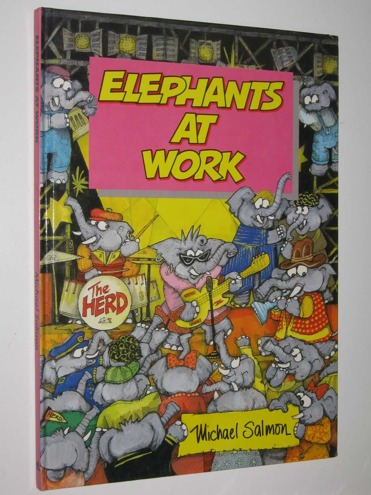 Image for Elephants at Work - Animal Antics Series