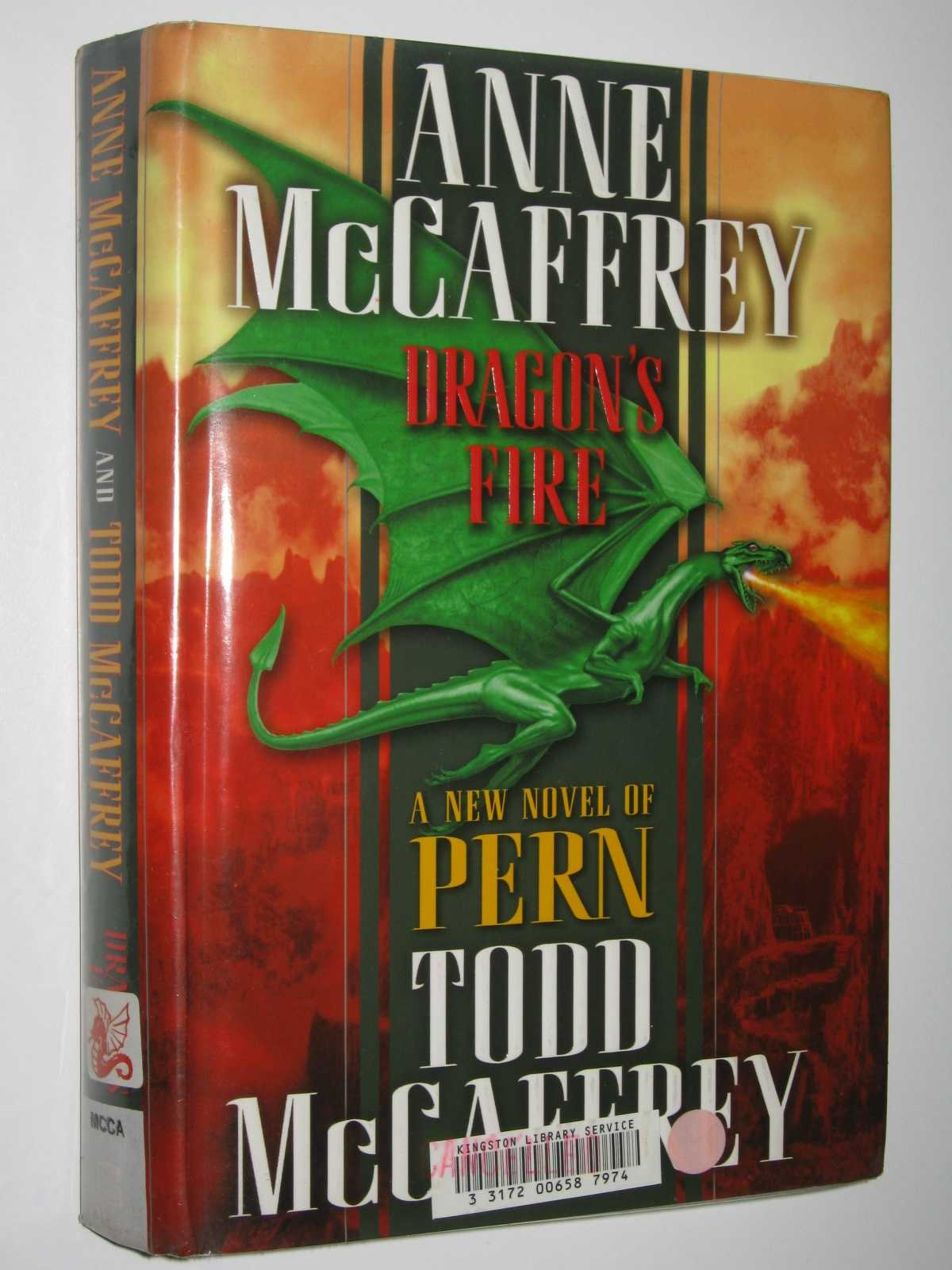 Image for Dragon's Fire - Dragonriders of Pern Series