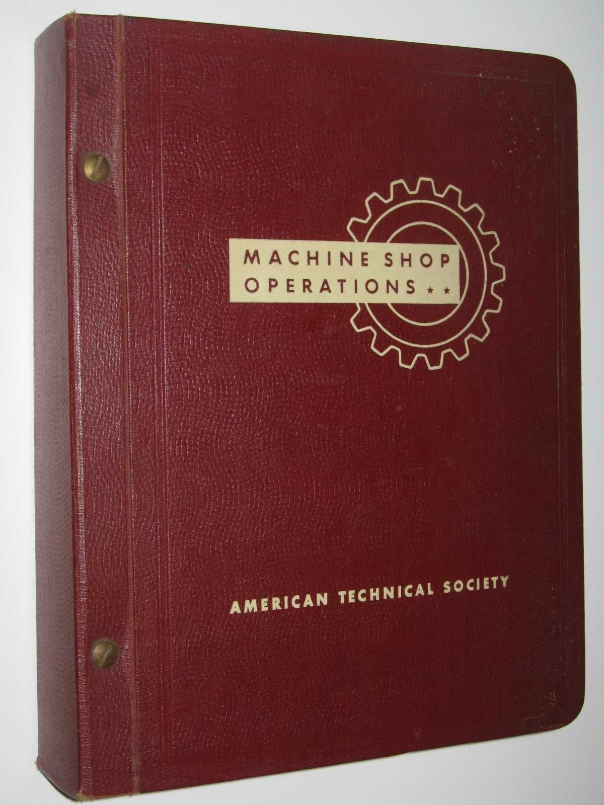 Image for Machine Shop Operations