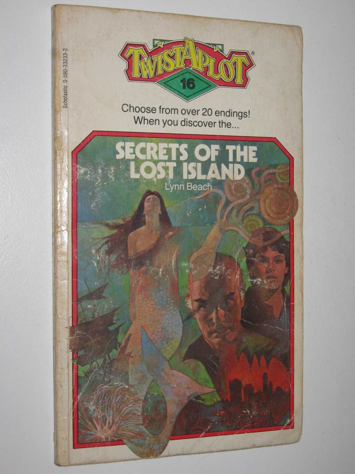 Image for Secrets of the Lost Island - Twist-A-Plot Series #16