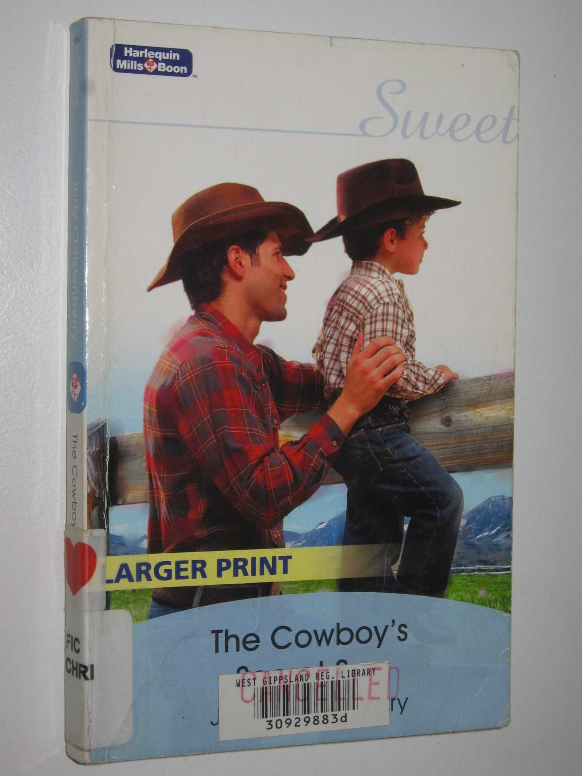 Image for The Cowboy's Secret Son - Sweet Series #6562