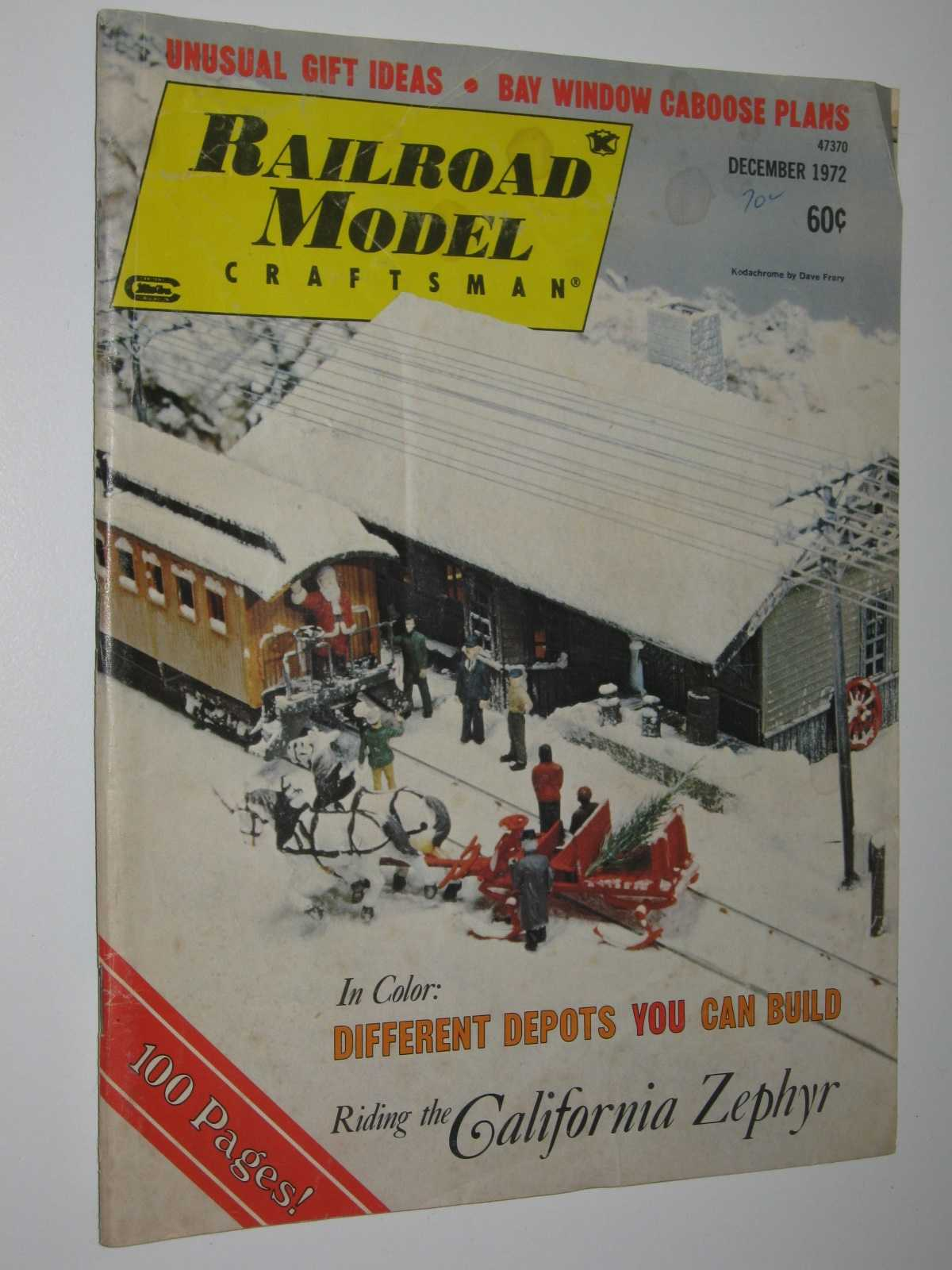 Image for Railroad Model Craftsman Vol 41 #7 : December 1972