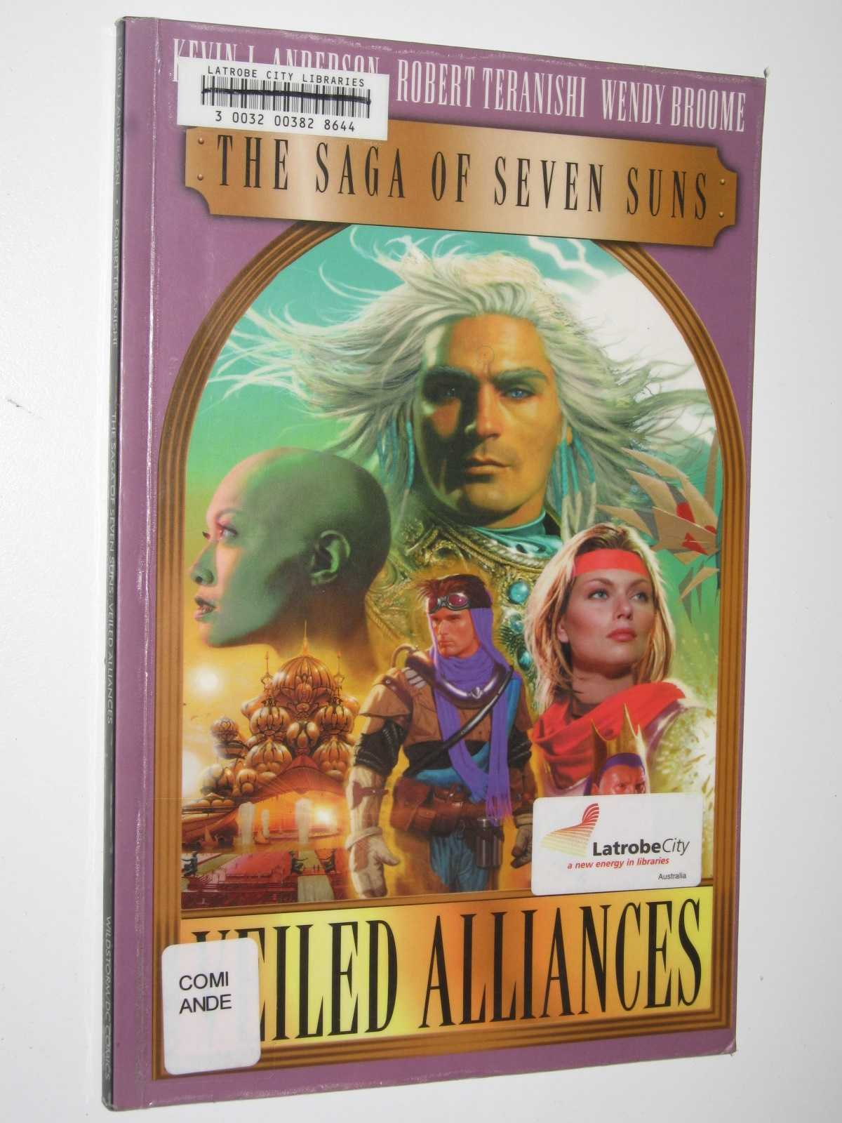 Image for The Saga of Seven Suns: Veiled Alliances