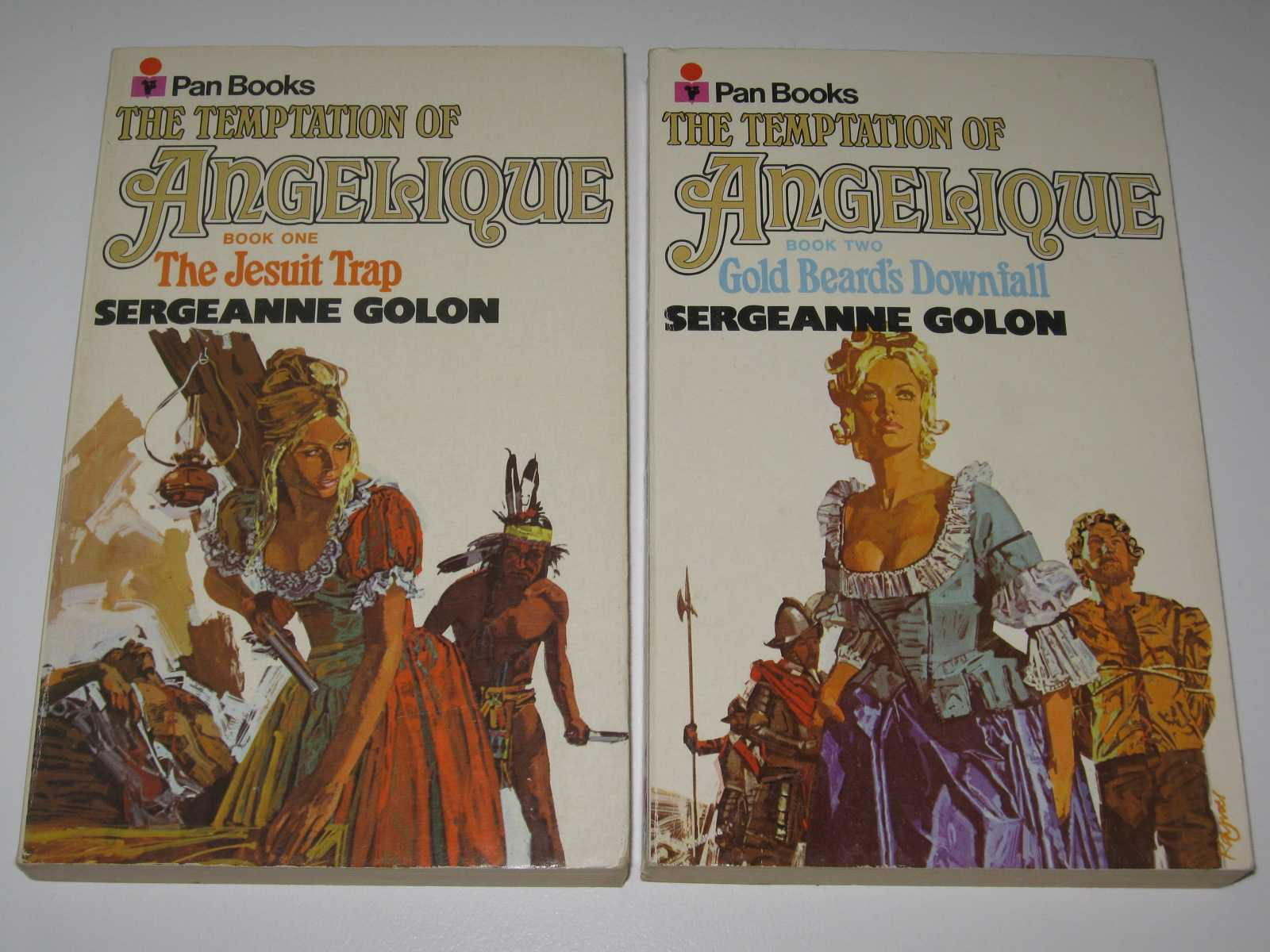 Image for The Temptation of Angelique Volumes 1 & 2 : The Jesuit Trap + Gold Beard's Downfall