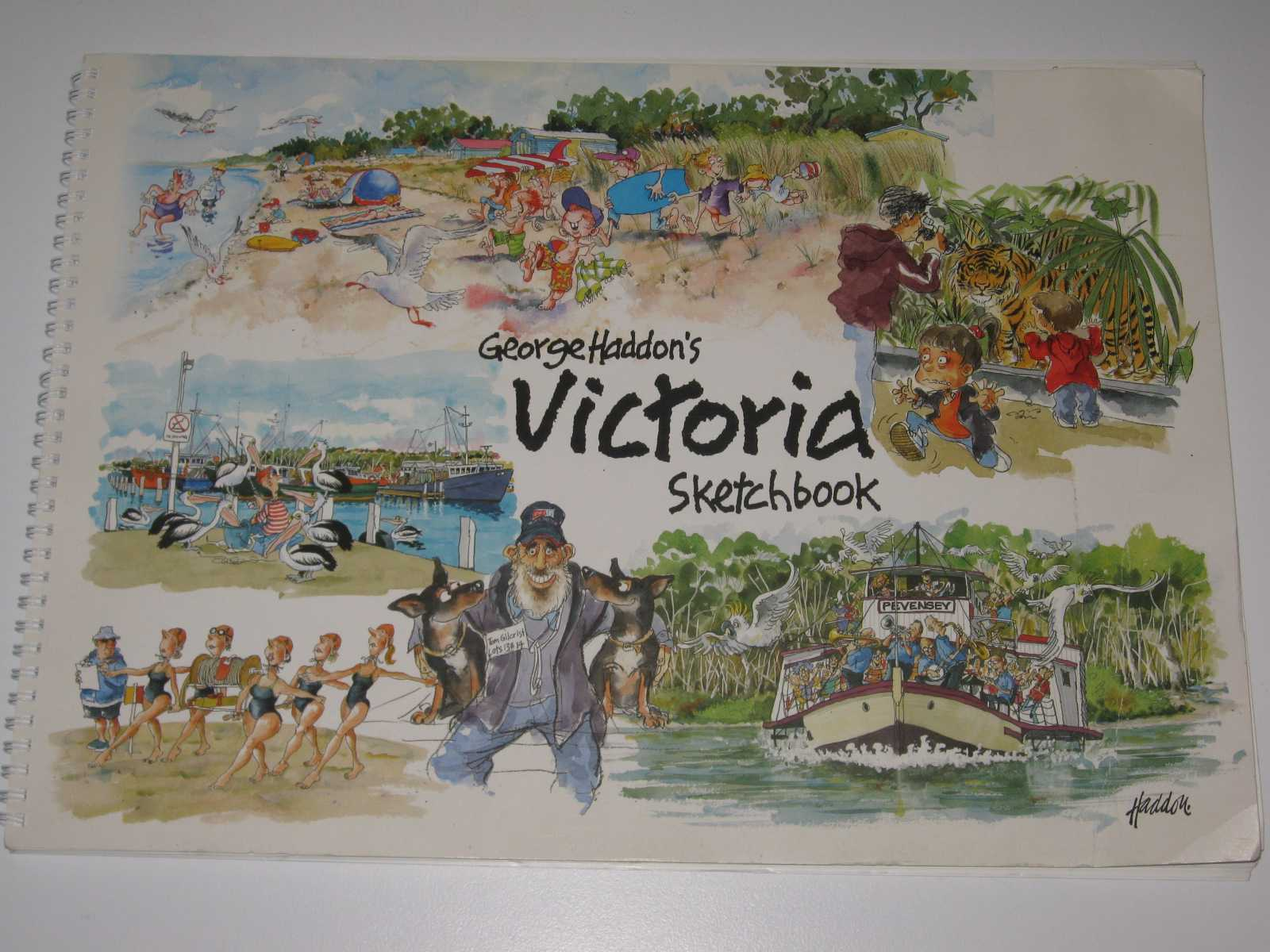 Image for George Haddon's Victoria Sketchbook