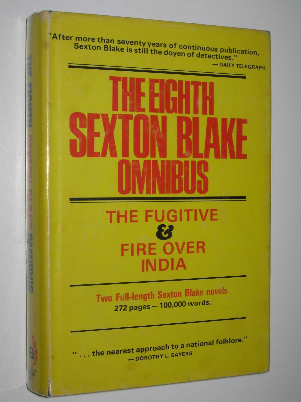 Image for The Eighth Sexton Blake Omnibus : The Fugitive + Fire Over India