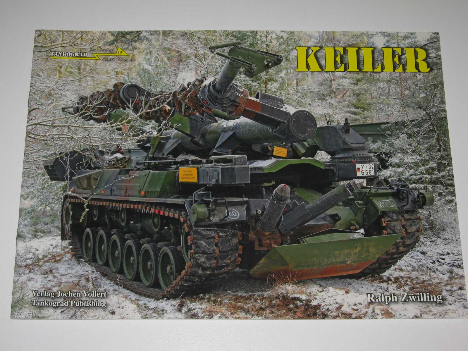 Image for Keiler Mine-Clearing Vehicle - In Detail Fast Track Series #15