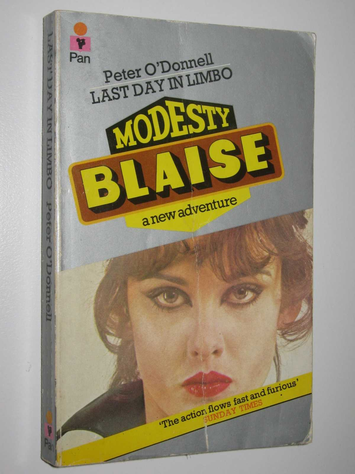 Image for Last Day in Limbo - Modesty Blaise Series #7