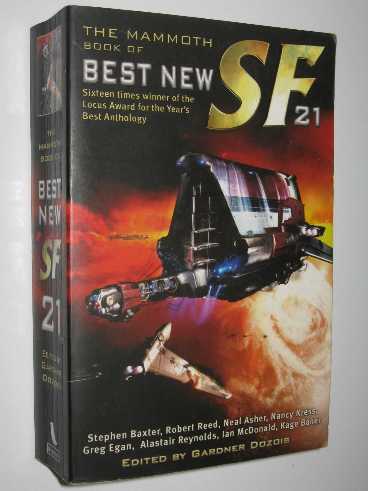 Image for The Mammoth Book of Best New SF 21
