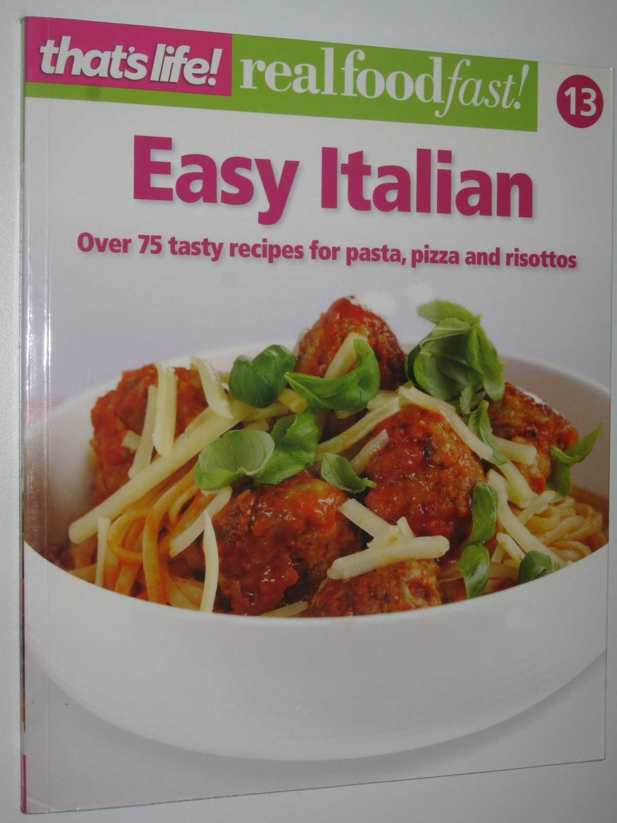 Image for Easy Italian - Real Food Fast! Series #13
