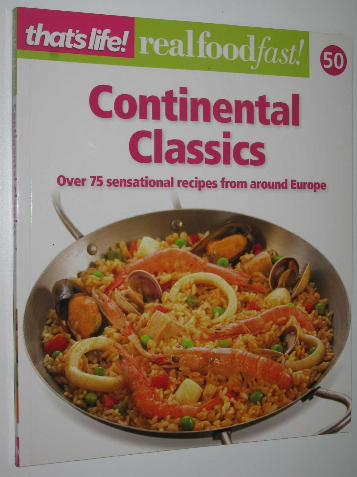 Image for Continental Classics - Real Food Fast! Series #50