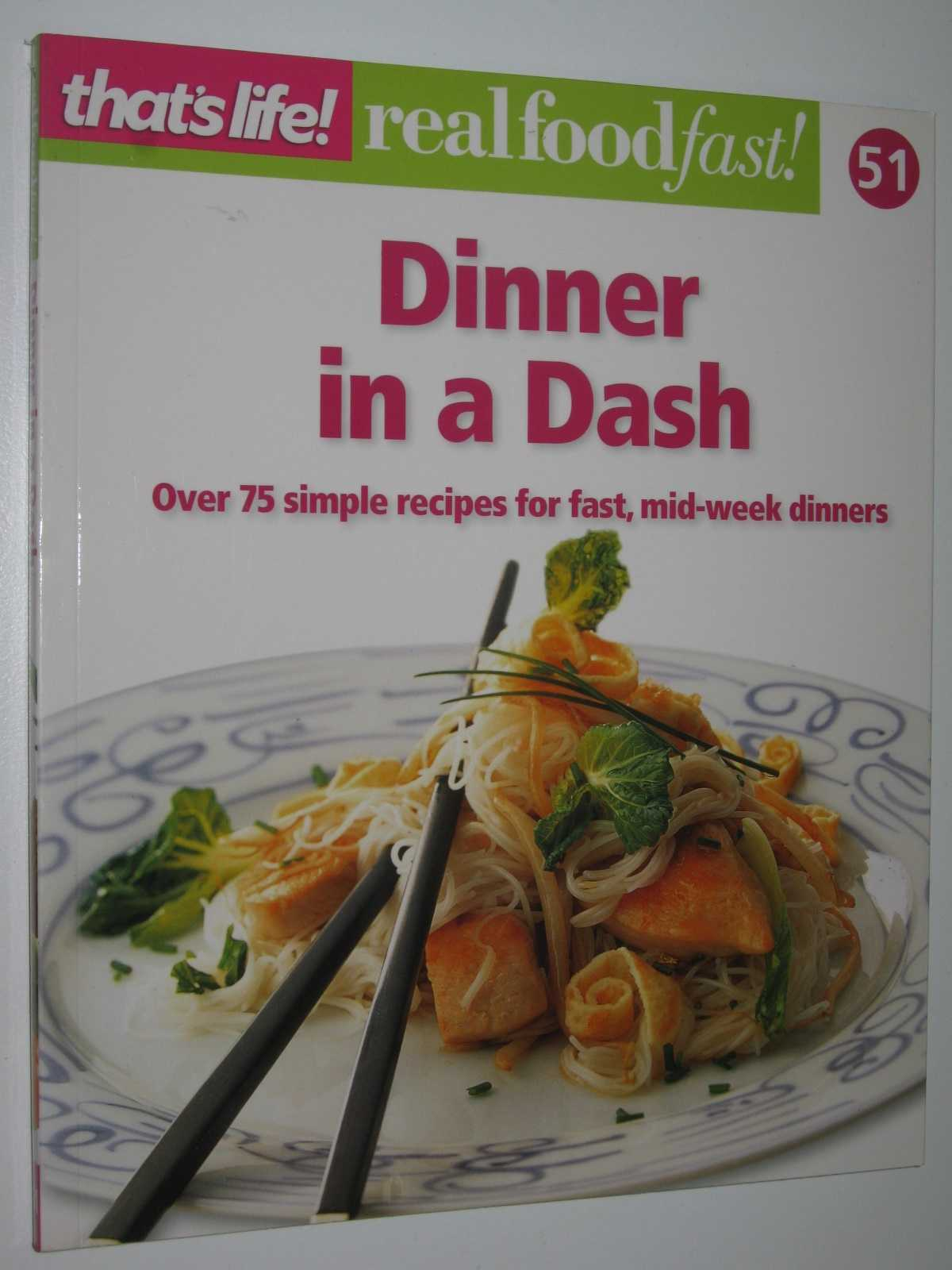 Image for Dinner in a Dash - Real Food Fast! Series #51