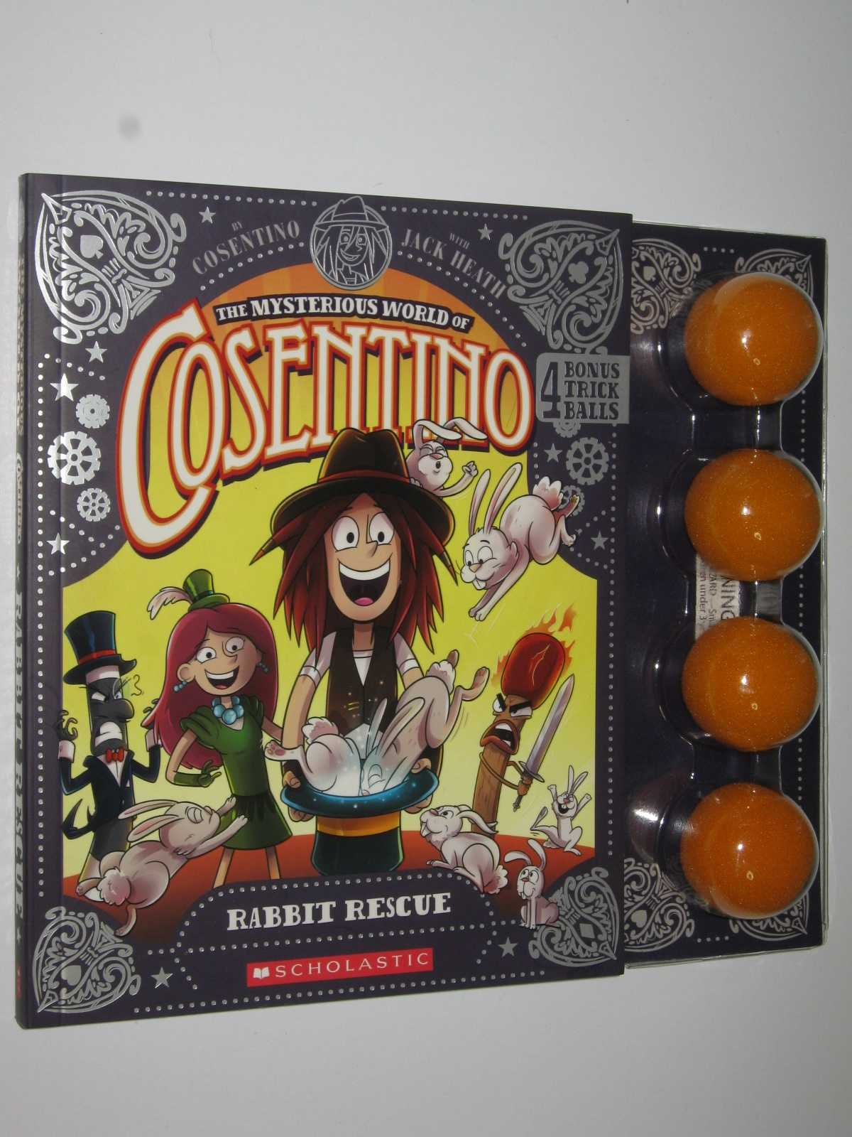 Image for Rabbit Rescue - The Mysterious World of Cosentino Series