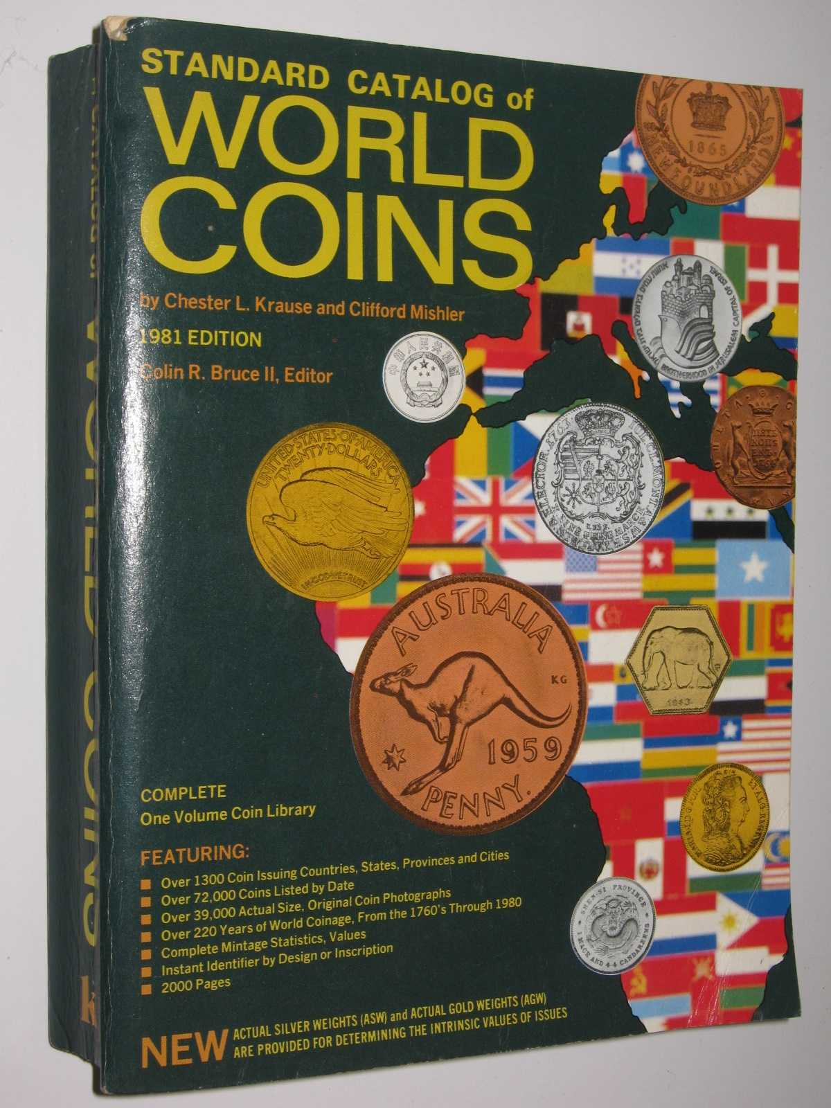 Image for Standard Catalog of World Coins : Complete One Volume Coin Librar