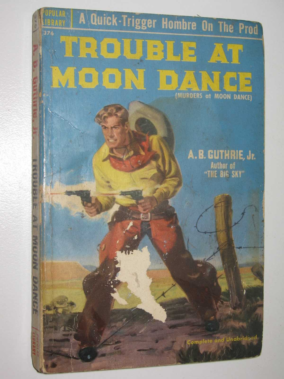 Image for Trouble at Moon Dance