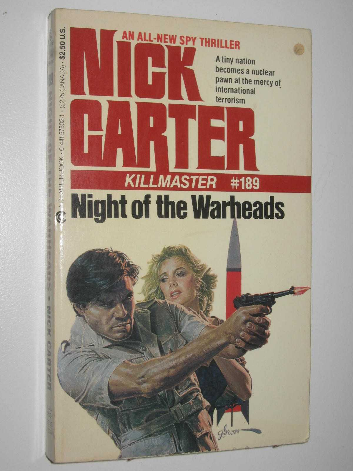 Image for Night of the Warheads - Killmaster Series #189