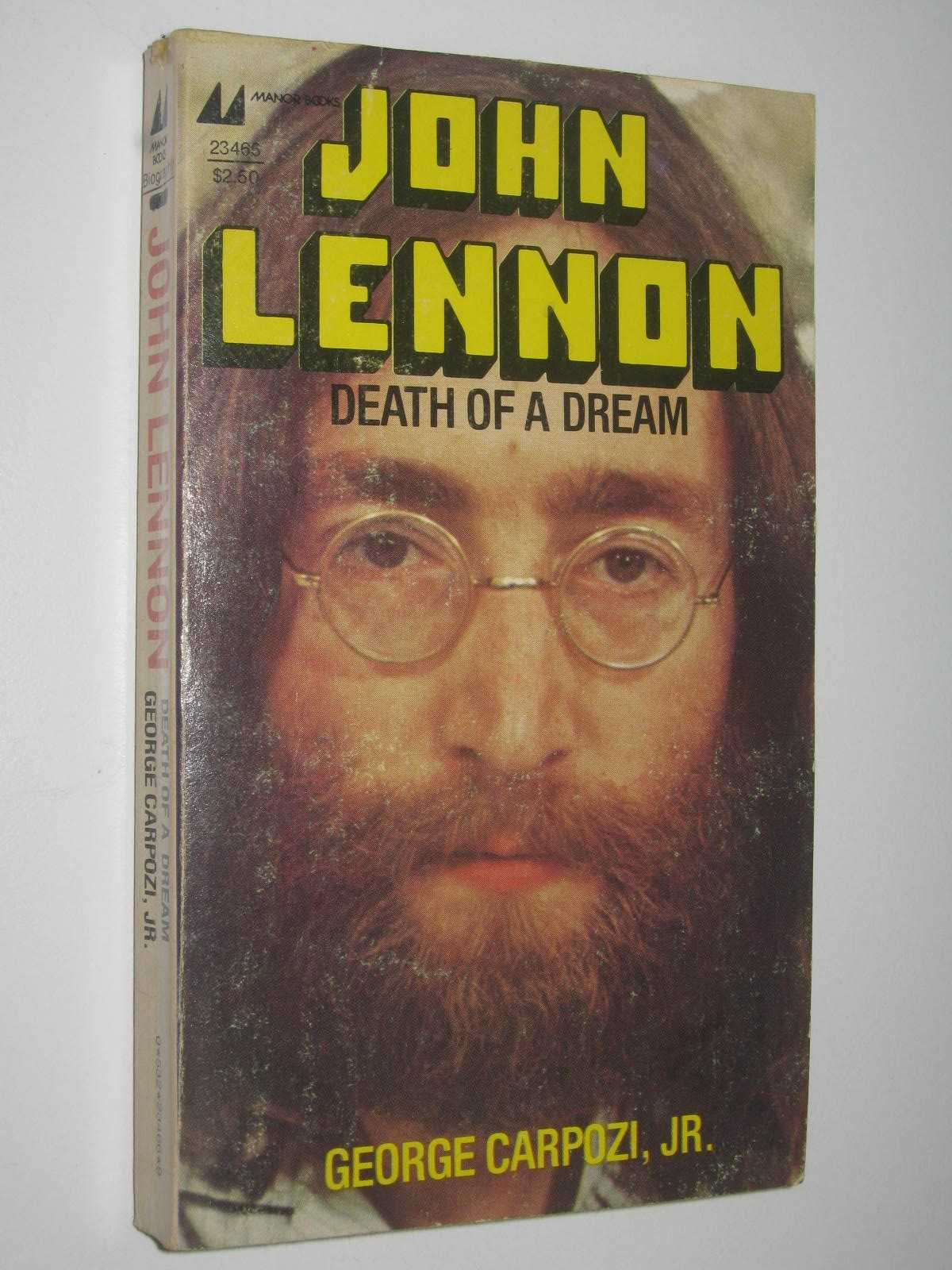Image for John Lennon: Death of a Dream
