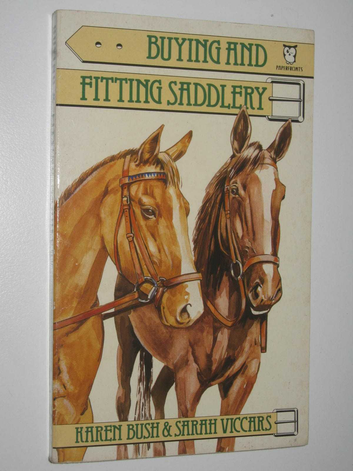 Image for Buying and Fitting Saddlery