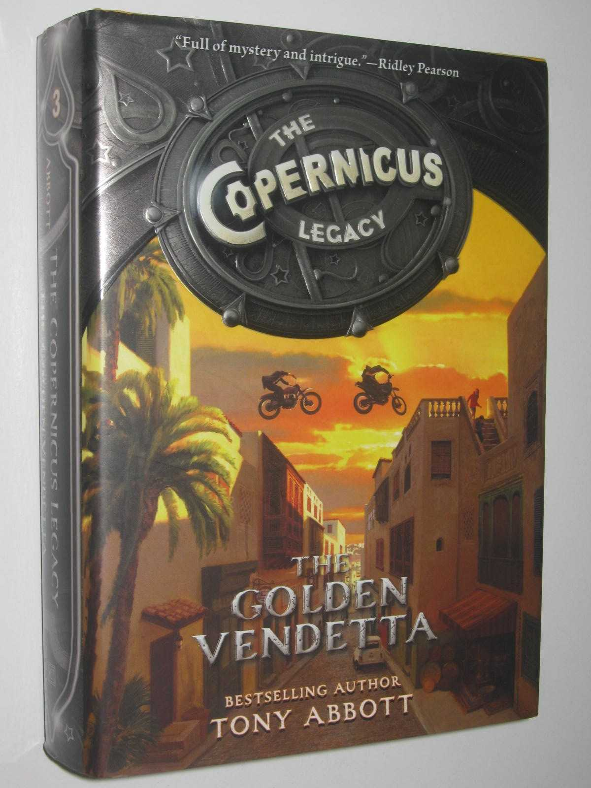 Image for The Golden Vendetta - The Copernicus Legacy Series #3