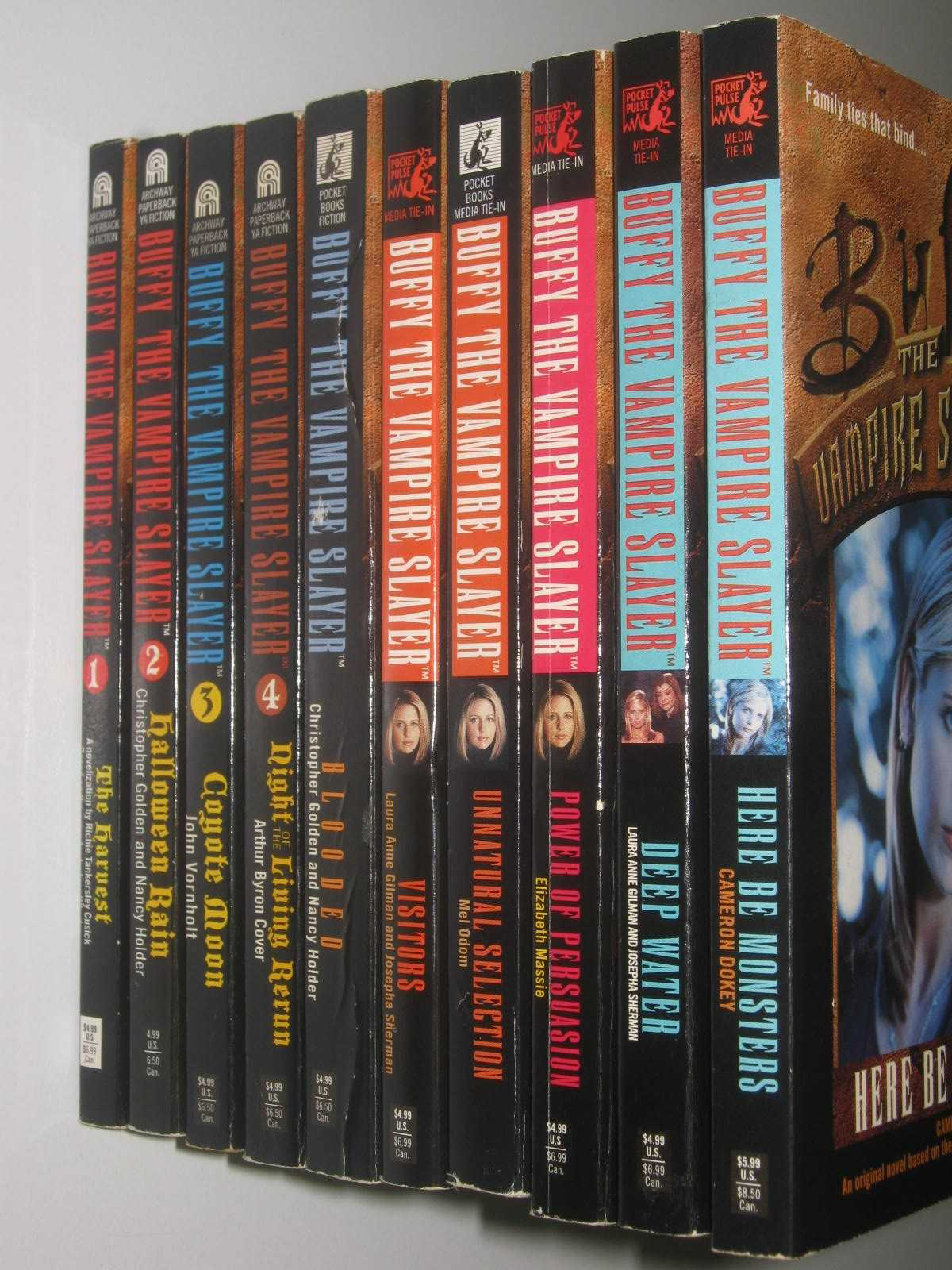 Image for Buffy The Vampire Slayer Books 1-10